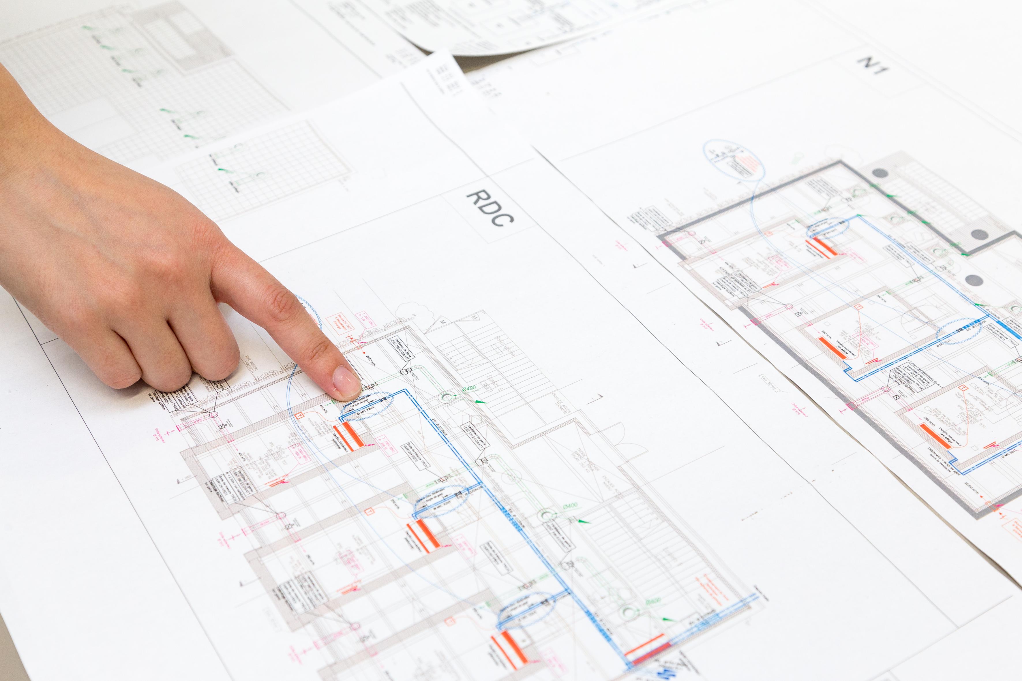Plan de bâtiment