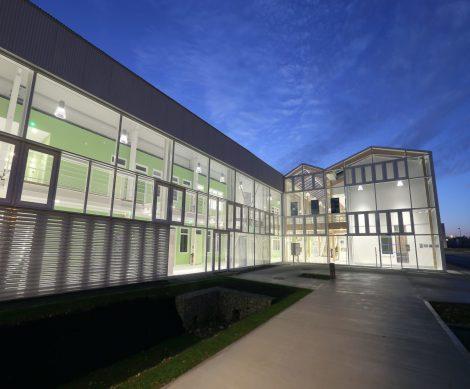 Le bâtiment Lab'In Tech siège de la plateforme TIpee